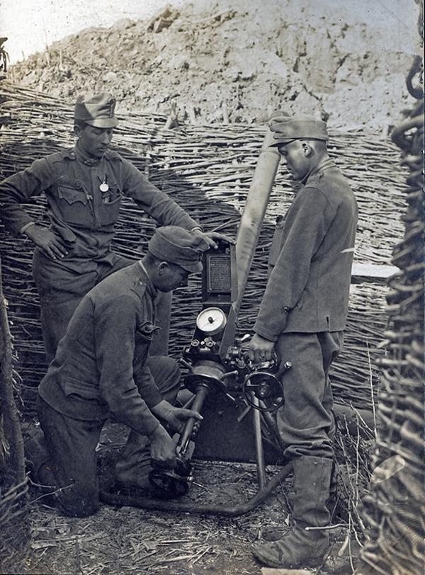 Az aknavető kezelése - Magyar Ferences Könyvtár, CC BY