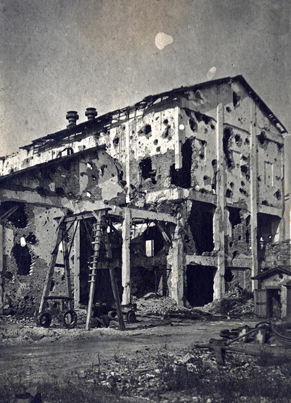 Görzi romos gyárépület - Magyar Ferences Könyvtár, CC BY