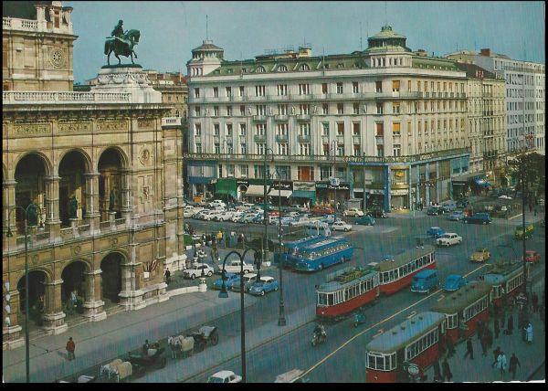 Hotel Bristol,Wien - képes levelezőlap - MKVM, CC BY-NC-ND
