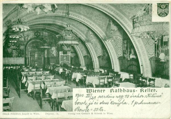 Wiener Rathauskeller - MKVM, CC BY-NC-ND