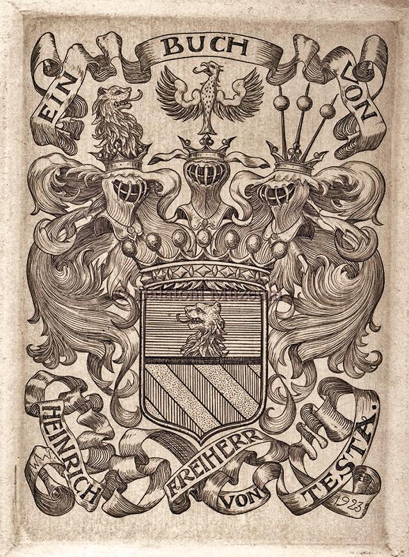Ein Buch von Heinrich Freiherr von Testa - Balatoni Múzeum, CC BY-NC-ND