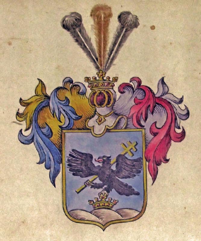 Kisfaludy család nemesi címere - Kisfaludy Sándor Emlékház, CC BY-NC-ND