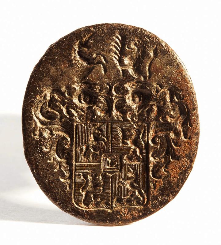 Nemesi pecsét címerrel - Móra Ferenc Múzeum, CC BY-NC-ND mcitem