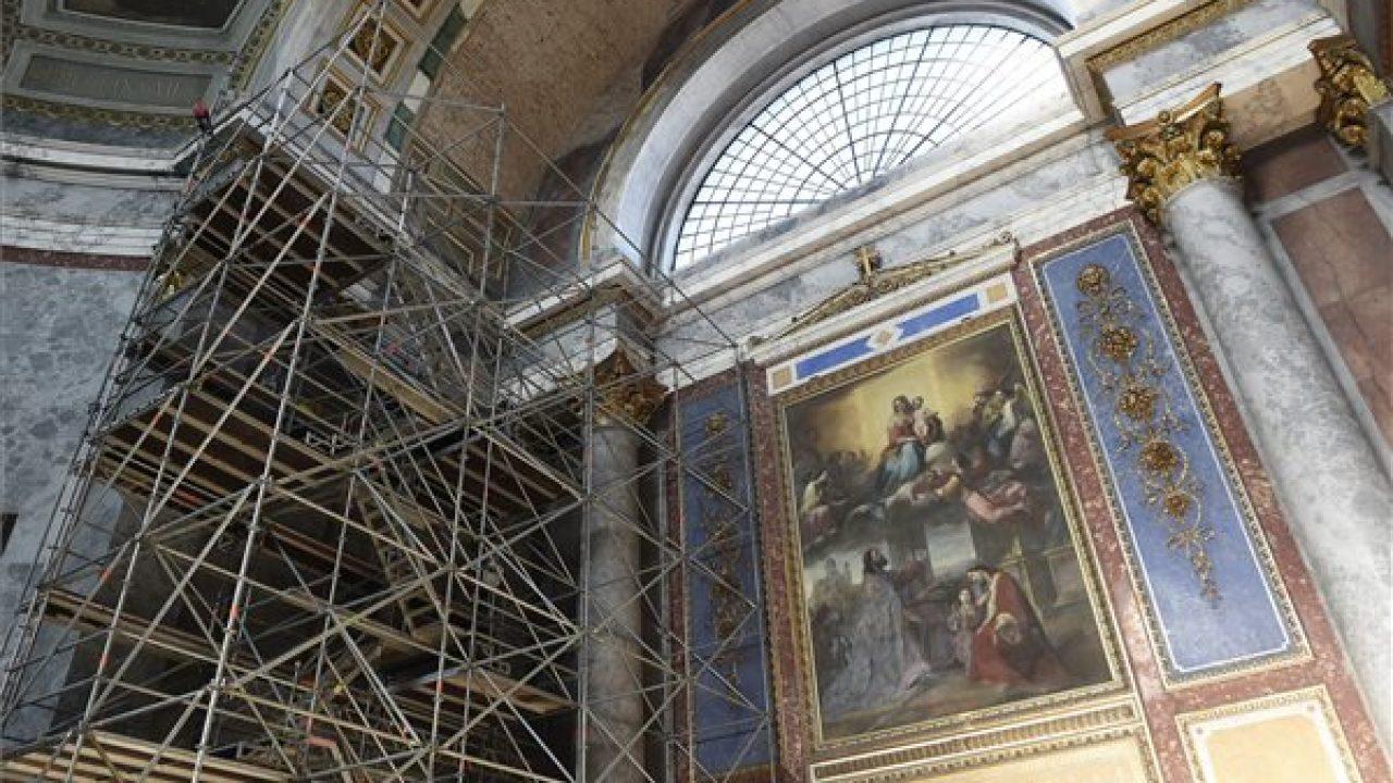 A bazilika megújult külsővel várja Nemzetközi Eucharisztikus Világkongresszust