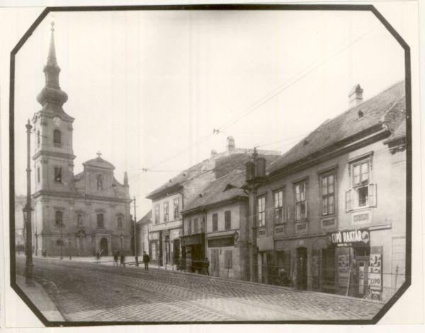 Tabáni utcakép Budapest 1904. - MKVM, CC BY-NC-ND
