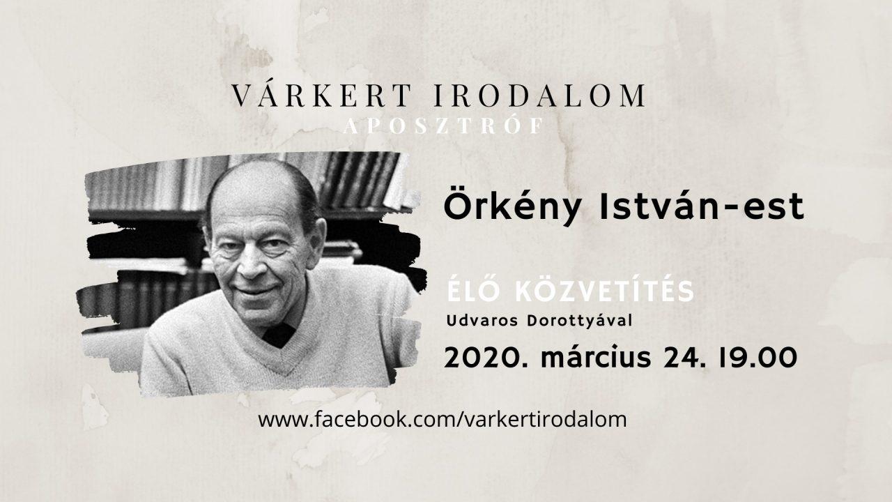Örkény a Várkertből, Udvaros Dorottya tolmácsolásában
