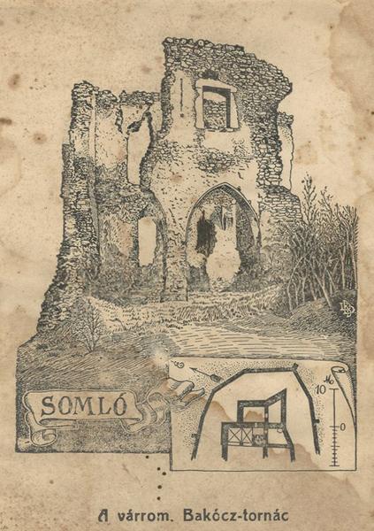 A somlói Bakócz-tornác várrom - CC BY-NC-ND - Balatoni Múzeum - Keszthely