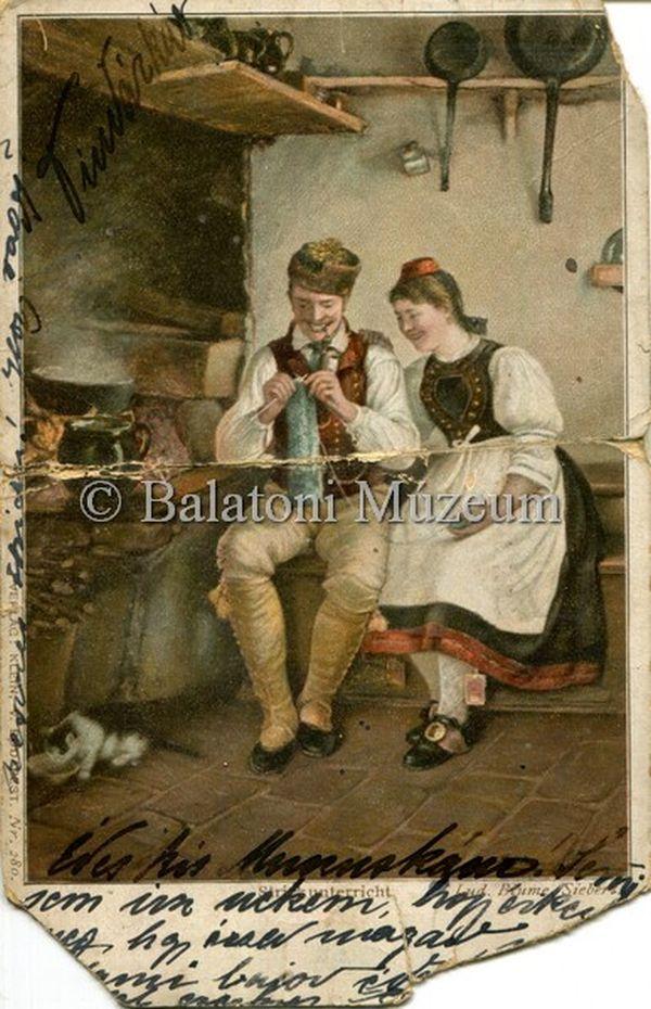 Kötéstanítás - Balatoni Múzeum, CC BY-NC-ND