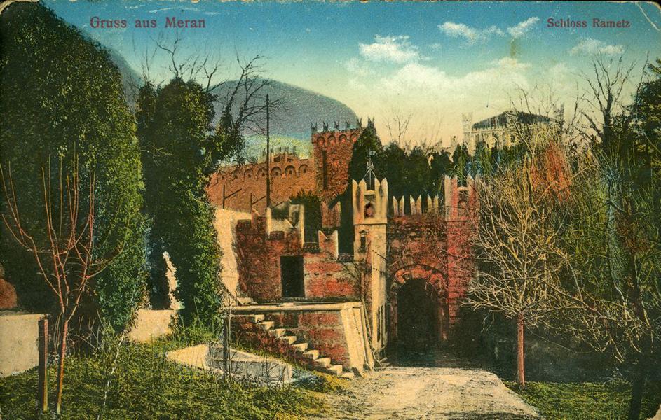A Rametz kastélyvár 1915-ben - Terleczky József, CC BY-NC-ND