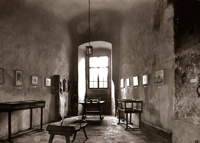 A siklósi vár kínzókamrája - Csorba Győző Könyvtár - Pécs, CC BY-NC