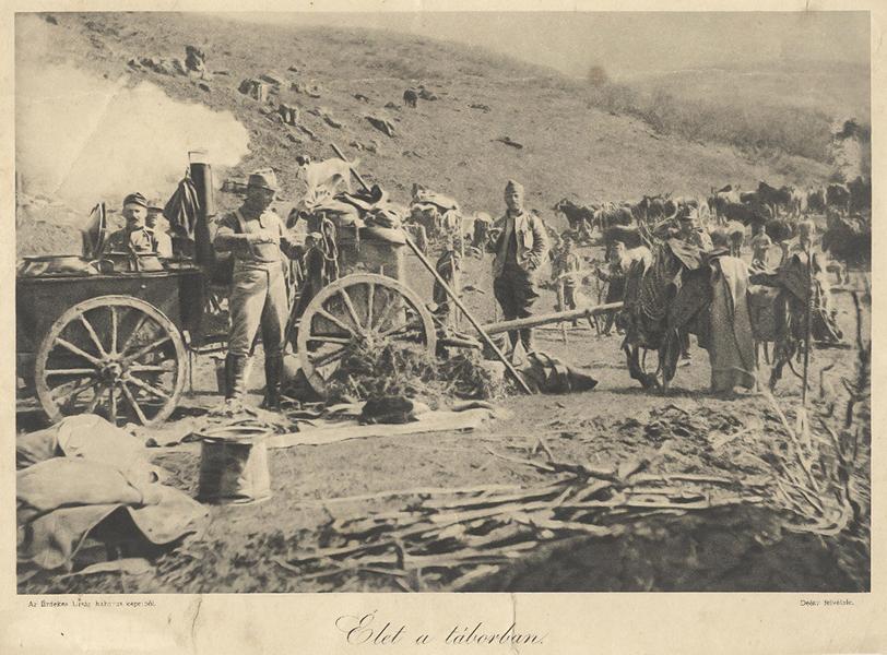 Élet a táborban az első világháború idején - Gömöri Múzeum; Putnok, CC BY-NC-ND