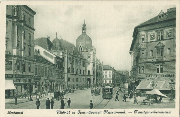 Életkép az Üllői úton - Magyar Kereskedelmi és Vendéglátóipari Múzeum, CC BY-NC-ND