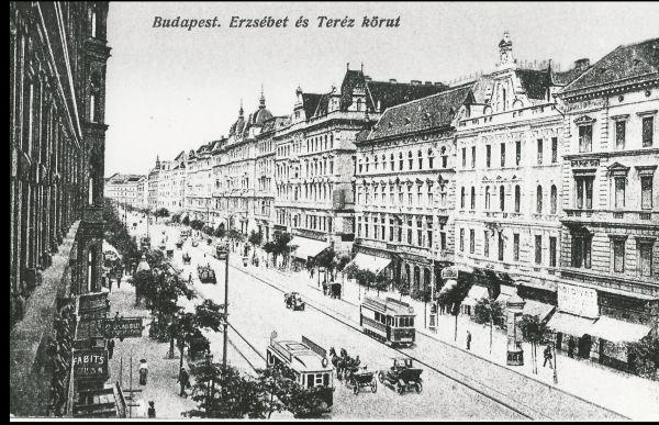 Erzsébet és Teréz körút - Magyar Kereskedelmi és Vendéglátóipari Múzeum, CC BY-NC-ND