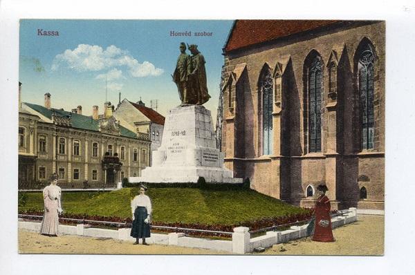 Honvéd szobor Kassán - Magyar Fotográfiai Múzeum, CC BY-NC-ND