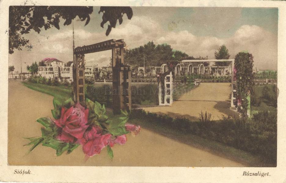 Siófoki rózsaliget - Balatoni Múzeum, CC BY-NC-N
