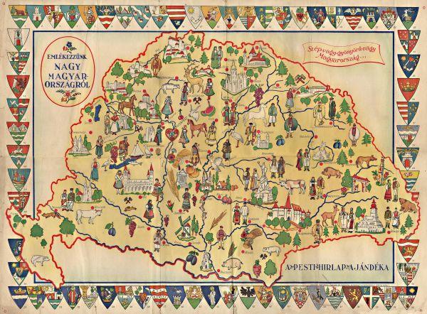 A Trianon előtti nagy Magyarország városainak címerei, népviselete és nevezetességei - Gömöri Múzeum; Putnok, CC BY-NC-ND