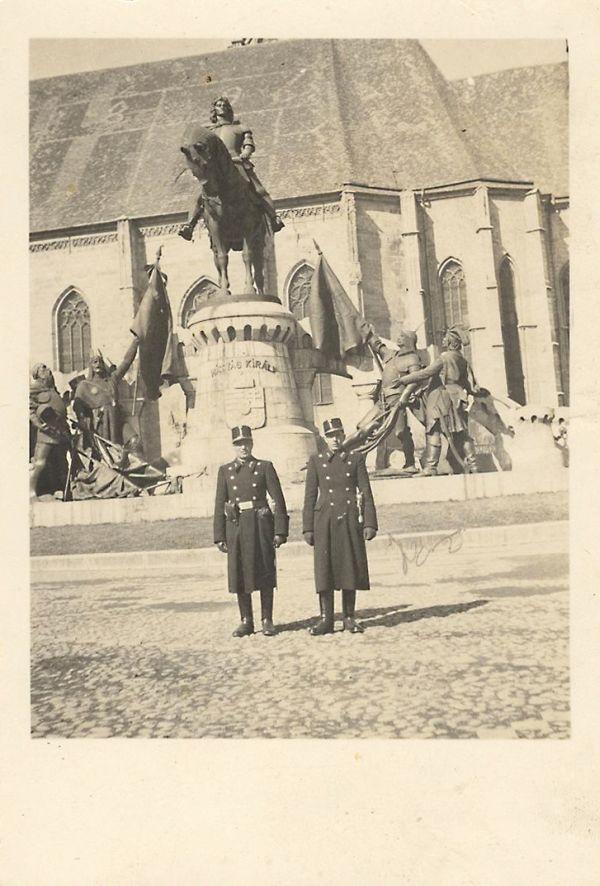 Kolozsvár, Mátyás király lovas szobra - Gömöri Múzeum; Putnok, CC BY-NC-ND