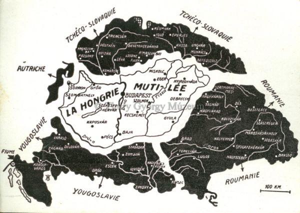 Magyarország megcsonkítása - Thúry György Múzeum, CC BY-NC-ND