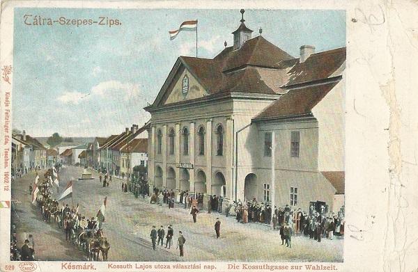 Városi Szálloda - képeslap, Késmárk, 1902 - MKVM, CC BY-NC-ND