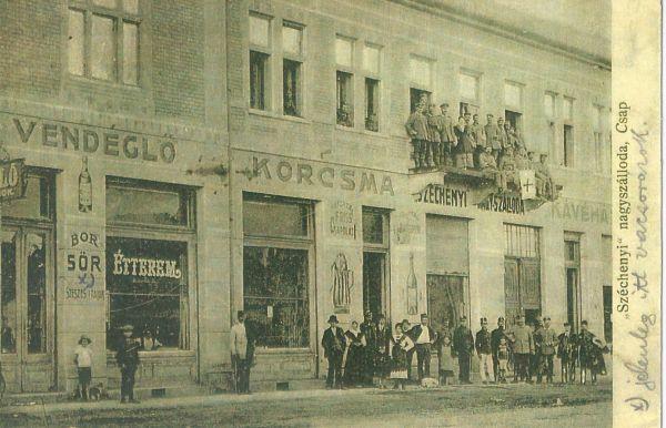 Széchenyi Kávéház, Csap, 1917 - Magyar Kereskedelmi és Vendéglátóipari Múzeum , CC BY-NC-ND