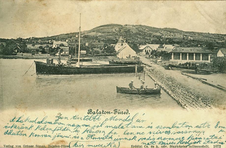 Vitorláshajó és csónak Balatonfüreden - Terleczky József, CC BY-NC-ND