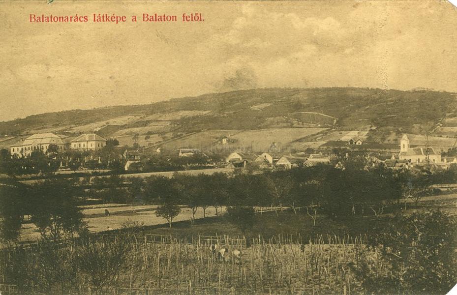 Balatonarács látképe (1916) - Terleczky József, CC BY-NC-ND
