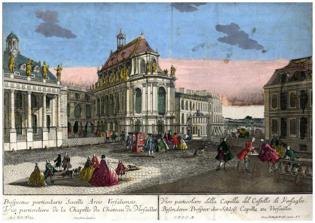 A Versailles-i kastélykápolna különleges látványa – Piarista Múzeum CC BY-NC-ND