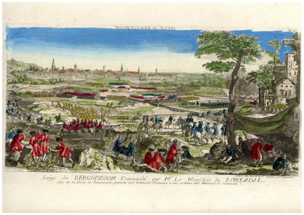 Bergen op Zoom elfoglalása (1747. szeptember 6.) – Piarista Múzeum CC BY-NC-ND