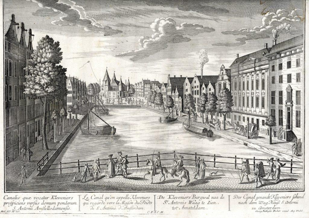 Az amszterdami Kleveniers-csatorna látképe – Piarista Múzeum CC BY-NC-ND