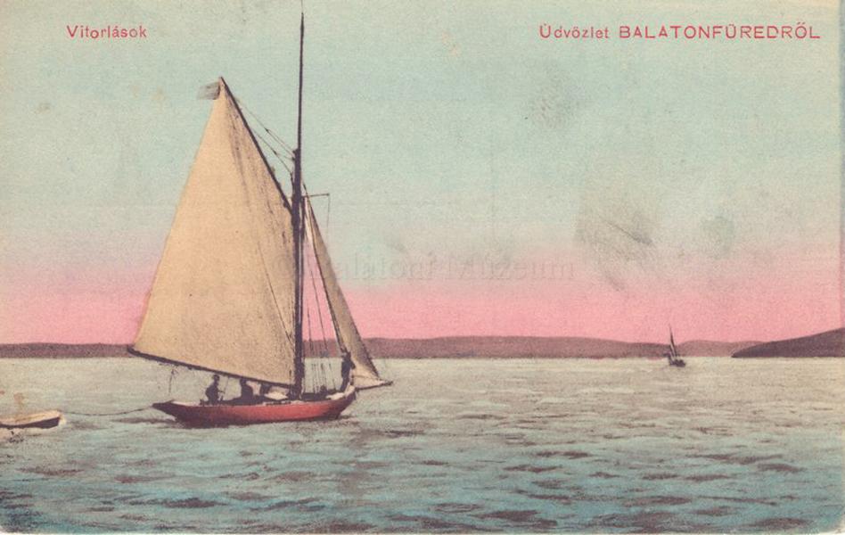 Üdvözlet Balatonfüredről (1917) - Balatoni Múzeum, CC BY-NC-ND