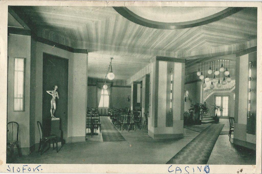 Siófoki kaszinó táncterme (Magyar Kereskedelmi és Vendéglátóipari Múzeum - Budapest CC BY-NC-ND)