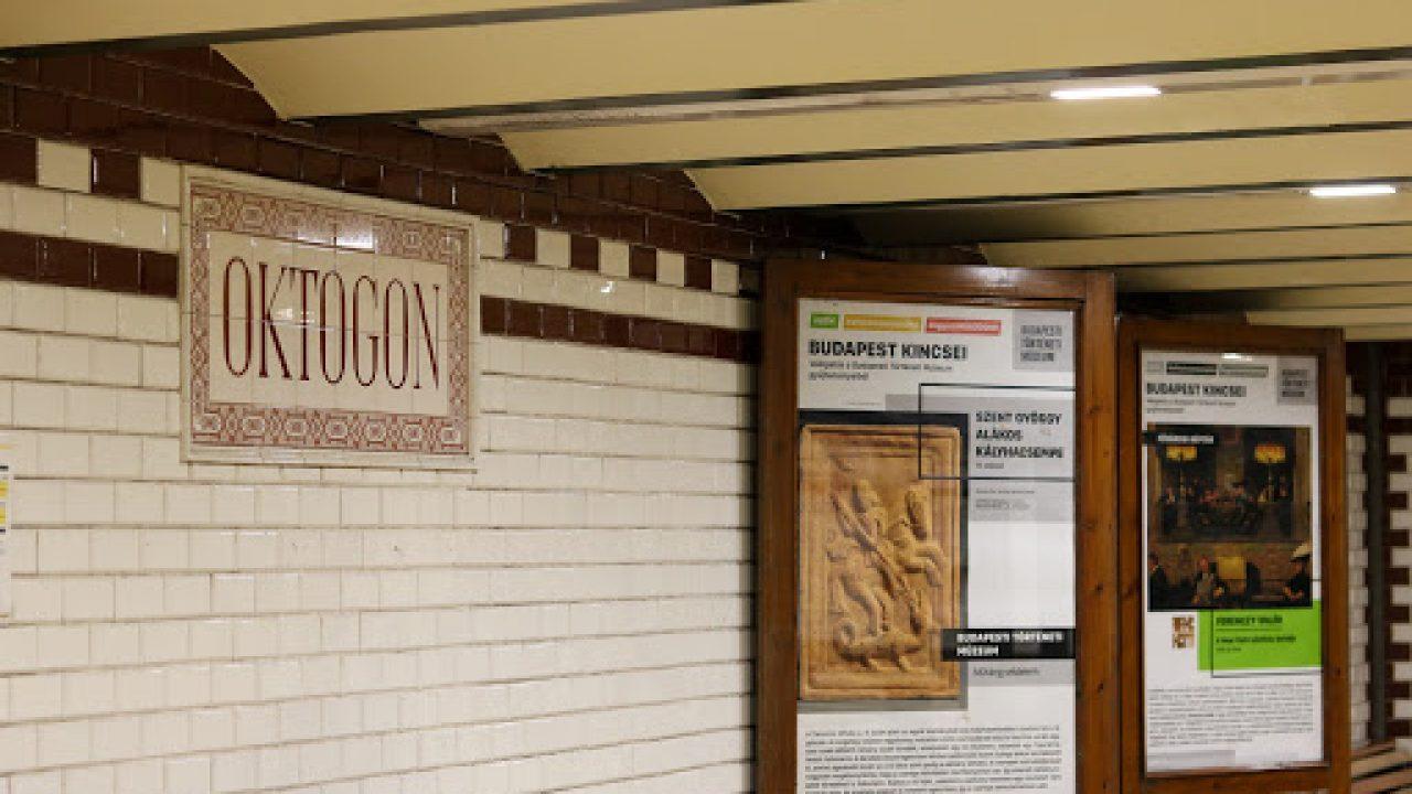 Plakátkiállítás a Kisföldalatti peronjain