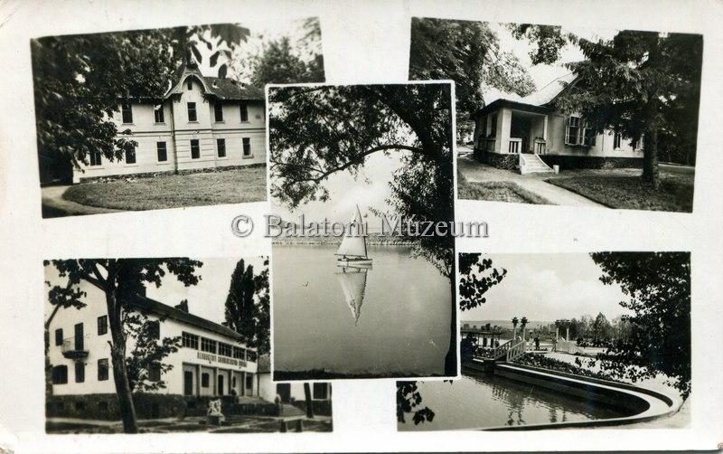 Balatonföldvár 50-es évek (Balatoni Múzeum - Keszthely © Minden jog fenntartva)