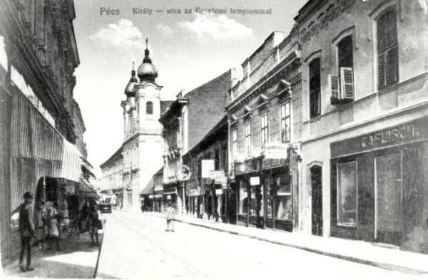 Pécs Caflisch Cukrászda - MKVM, CC BY-NC-ND