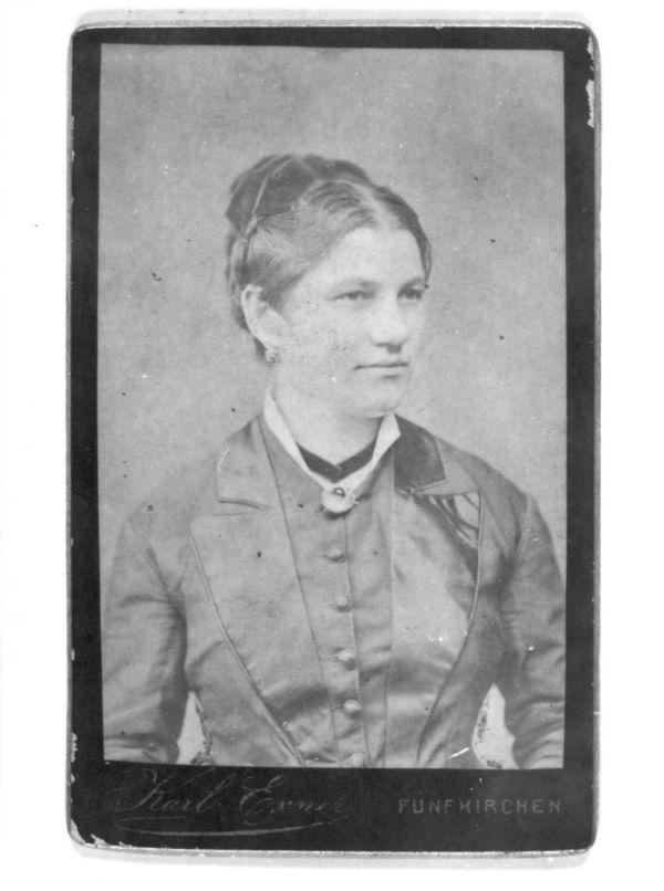 Caflisch Kristófné Murányi Anna, Pécs, 1874 - MKVM, CC BY-NC-ND