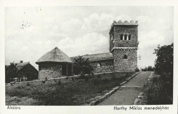 Horthy Miklós menedékház, Alsóörs, 1939 - MKVM, CC BY-NC-ND