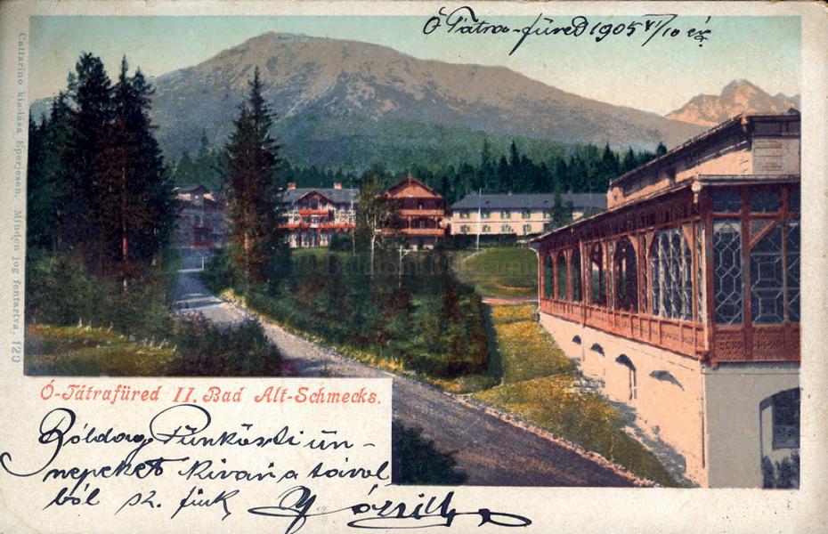 Ótátrafüred II. Bad Altschmecks (1905) - Terleczky József, CC BY-NC-ND