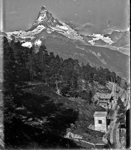 A svájci Matterhorn csúcsa (1900-as évek eleje) - Kuny Domokos Múzeum, CC BY