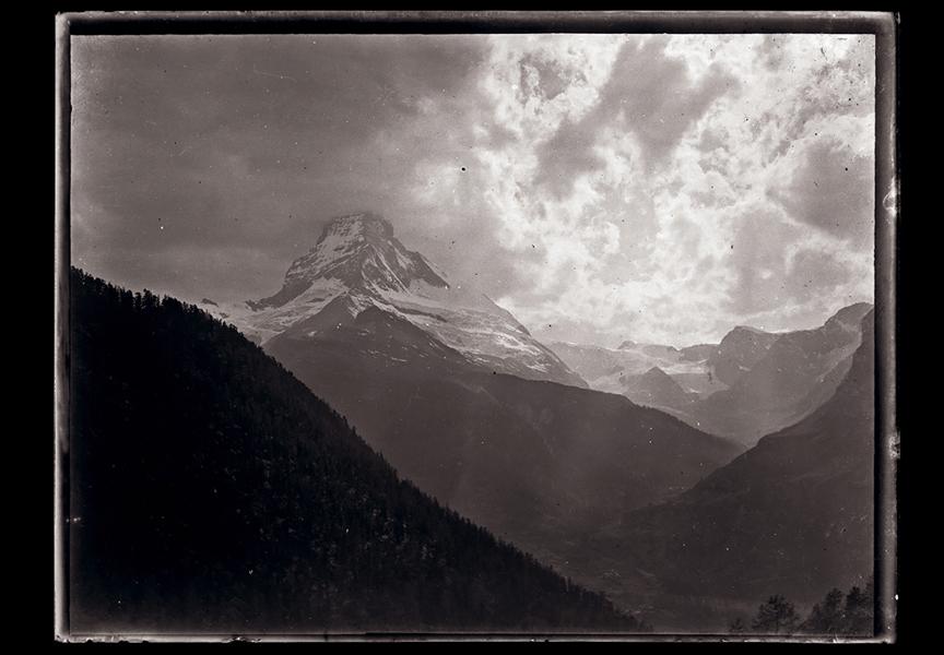Svájci hegységek (1900-as évek eleje) - Kuny Domokos Múzeum, CC BY