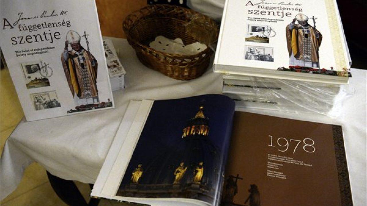 Könyv jelent meg Szent II. János Pálról