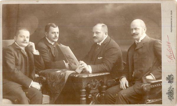 Heinrich cég igazgatói, Budapest 1905. - MKVM, CC BY-NC-ND