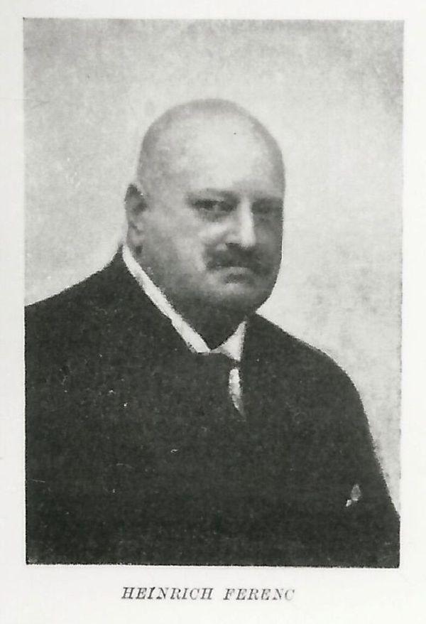 Heinrich Ferenc kereskedelemügyi miniszter portréja Budapest XX. század első fele - MKVM, CC BY-NC-ND