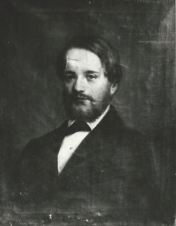 Heinrich Ferenc I. kereskedő portréja, fénykép - MKVM, CC BY-NC-ND