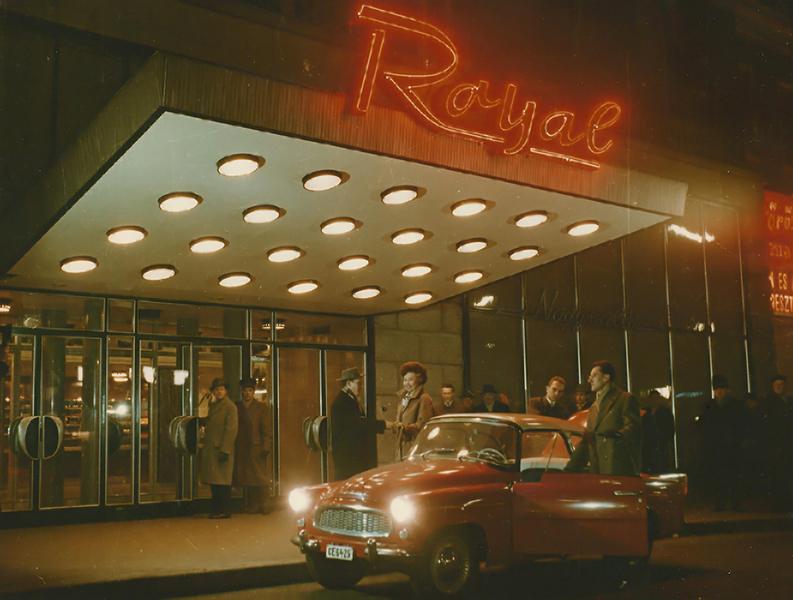 A Royal szállónál (1970-táján) - MKVM, CC BY-NC-ND