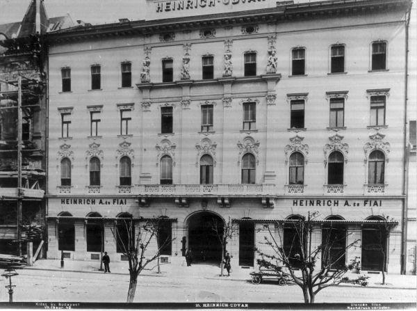 Heinrich udvar, fénykép - MKVM, CC BY-NC-ND