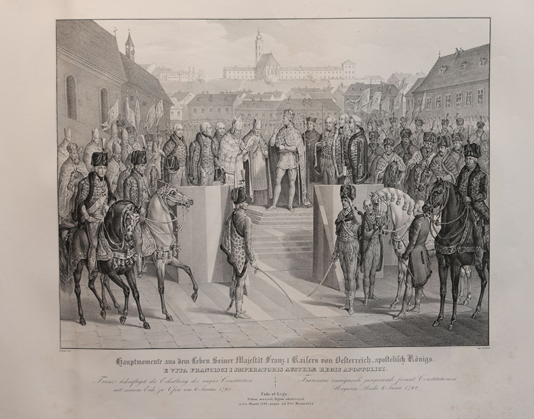 I. Ferenc császár-sorozat - Piarista Rend Magyar Tartománya, CC BY-NC-ND