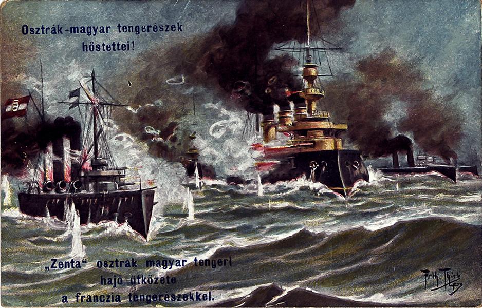 Zenta osztrák-magyar hadihajó - Piarista Rend Magyar Tartománya, CC BY-NC-ND