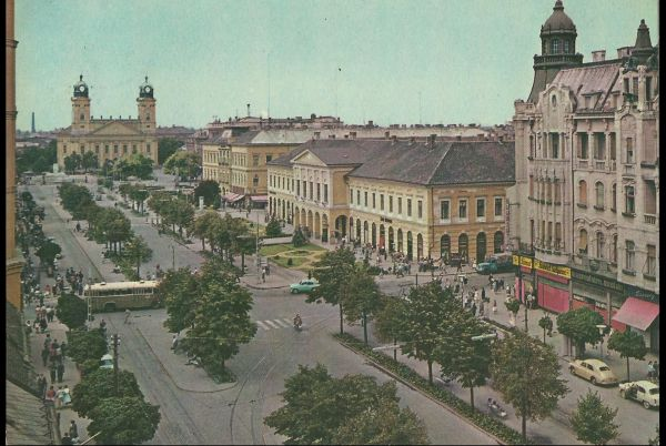 Debrecen, Vörös Hadsereg útja - képeslap - MKVM, CC BY-NC-ND