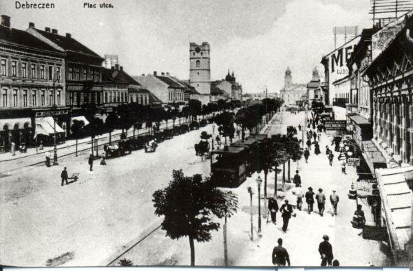 Debrecen, Piac utca - MKVM, CC BY-NC-ND