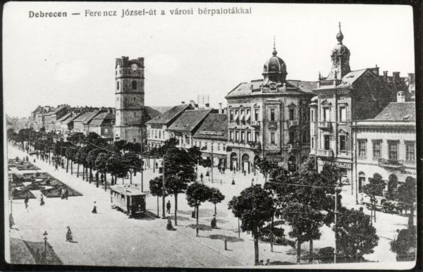 Debrecen Piac utca - MKVM, CC BY-NC-ND